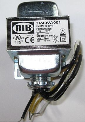 Picture of TR40VA001  - Transformer 40VA, 120 to 24VAC
